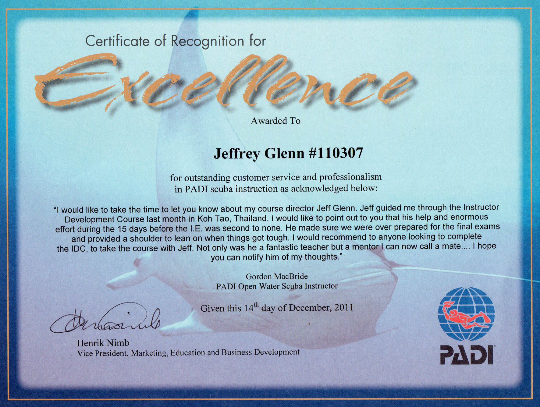 Padi instructor development course idc go pro asia go pro asia important viewing xflitez Gallery